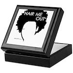 Hair Me Out Keepsake Box