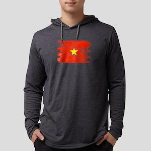 Vietnam Shirt Gift Country Fla Long Sleeve T-Shirt