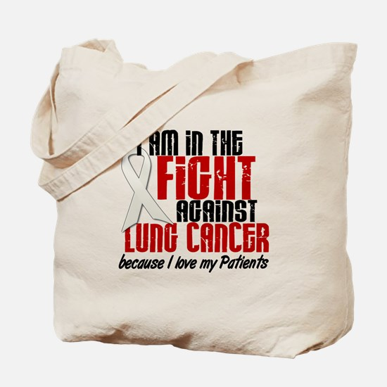 In The Fight 1 LC (Patients) Tote Bag
