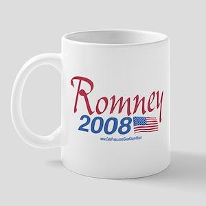 Romney for President 2008 Flag Mug