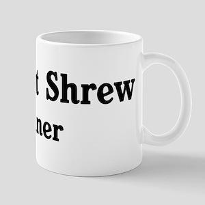 Elephant Shrew trainer Mug