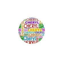 Cheryl Personalized Mini Button