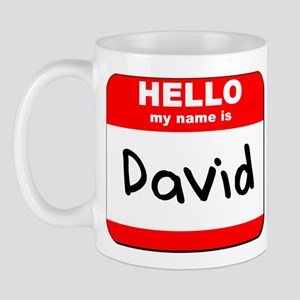 Hello my name is David Mug