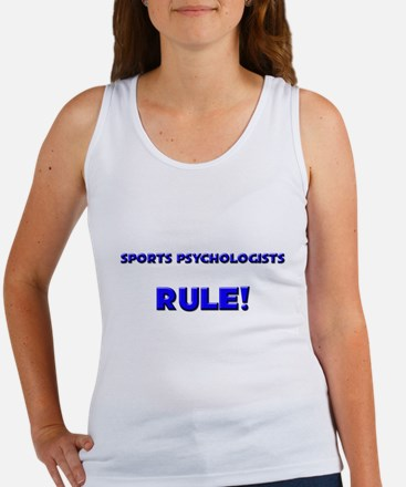 Sports Psychologists Rule! Women's Tank Top