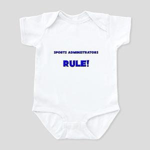 Sports Administrators Rule! Infant Bodysuit