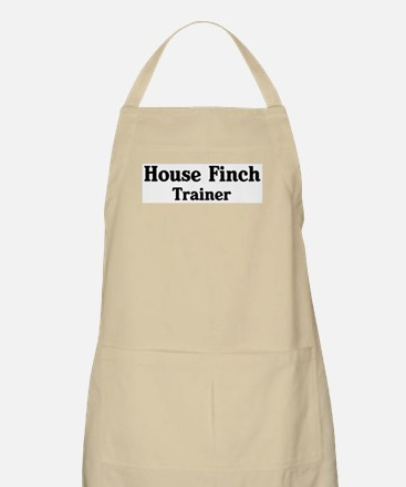House Finch trainer BBQ Apron