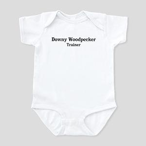 Downy Woodpecker trainer Infant Bodysuit