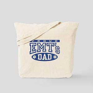 Proud EMT's Dad Tote Bag