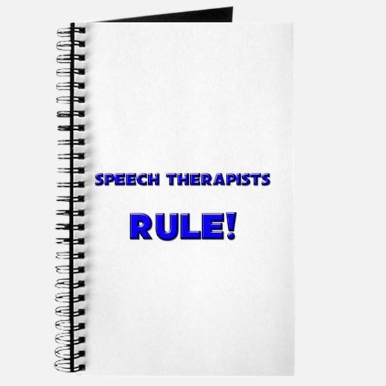 Speech Therapists Rule! Journal