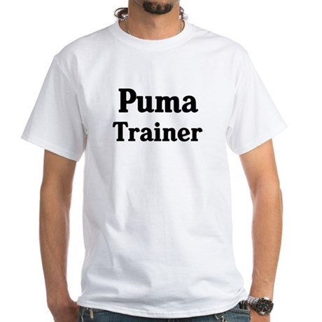 Puma trainer White T-Shirt