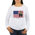 barack cowbama Women's Long Sleeve T-Shirt
