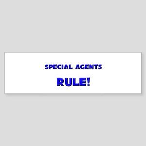 Special Agents Rule! Bumper Sticker