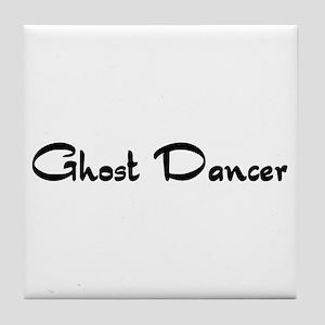 Ghost Dancer Tile Coaster