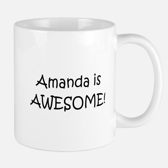 Unique I love amanda Mug