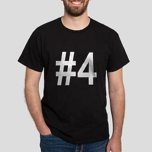 #4 birth order baby number four Dark T-Shirt