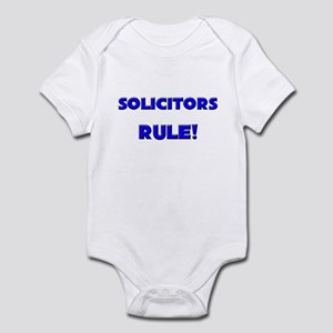 Solicitors Rule! Infant Bodysuit