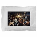 Dancing Bears Painting Pillow Sham