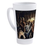 Dancing Bears Painting 17 oz Latte Mug