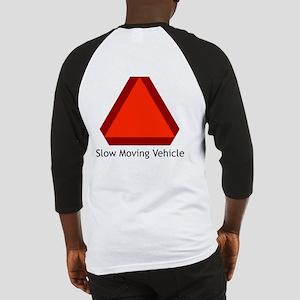 Slow Moving Vehicle Sign - Baseball Jersey