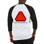 Slow Moving Vehicle Sign - Baseball Jersey