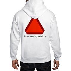 Slow Moving Vehicle Sign - Hooded Sweatshirt