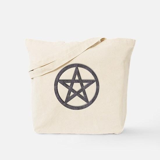 Spiderweb Pentagram Tote Bag
