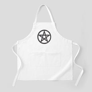 Spiderweb Pentagram BBQ Apron