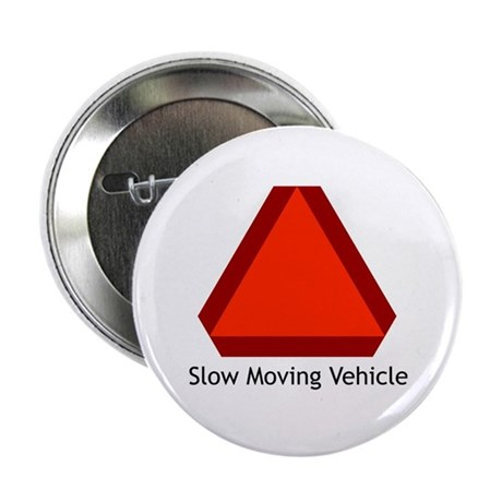 Slow Moving Vehicle Sign - Button