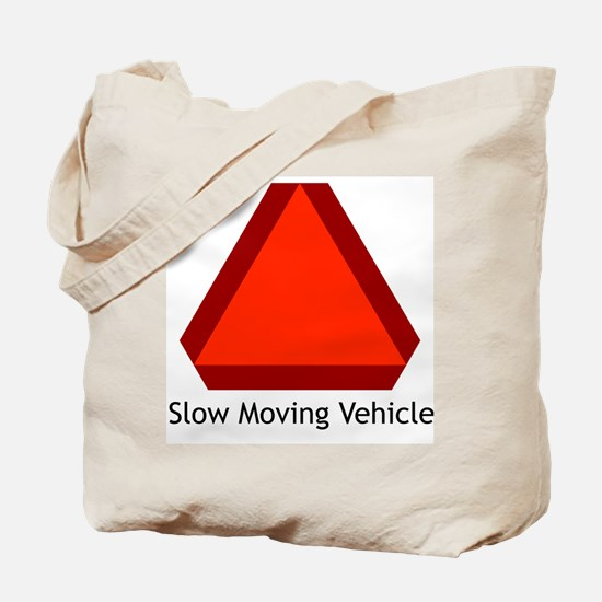 Slow Moving Vehicle Sign - Tote Bag
