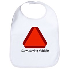Slow Moving Vehicle Sign - Bib