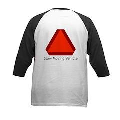 Slow Moving Vehicle Sign - Kids Baseball Jersey