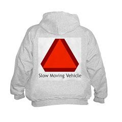 Slow Moving Vehicle Sign - Hoodie