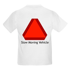 Slow Moving Vehicle Sign - T-Shirt