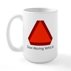 Slow Moving Vehicle Sign - Large Mug