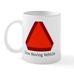 Slow Moving Vehicle Sign - Mug