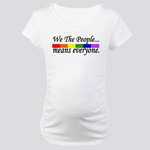 we the people Maternity T-Shirt