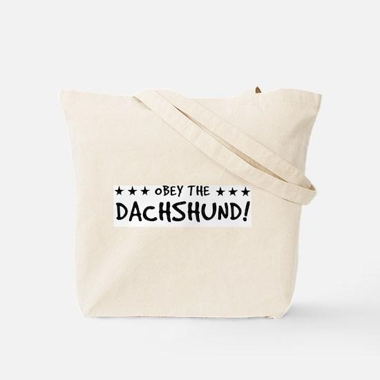 "Dachshund ""Low Rider"" Tote Bag"