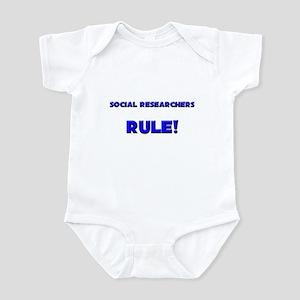 Social Researchers Rule! Infant Bodysuit