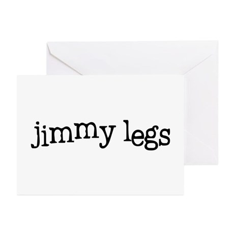 Jimmy Legs Greeting Cards (Pk of 20)