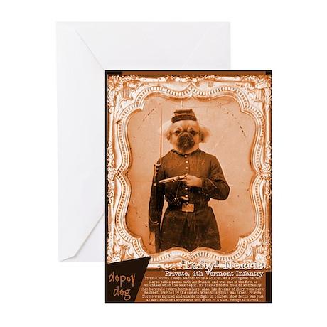 Tibetan Spaniel LEFTY Greeting Cards (Pk of 10)