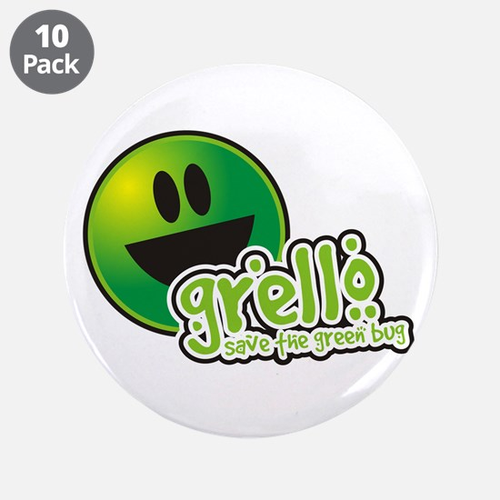 "Save The Green 3.5"" Button (10 pack)"
