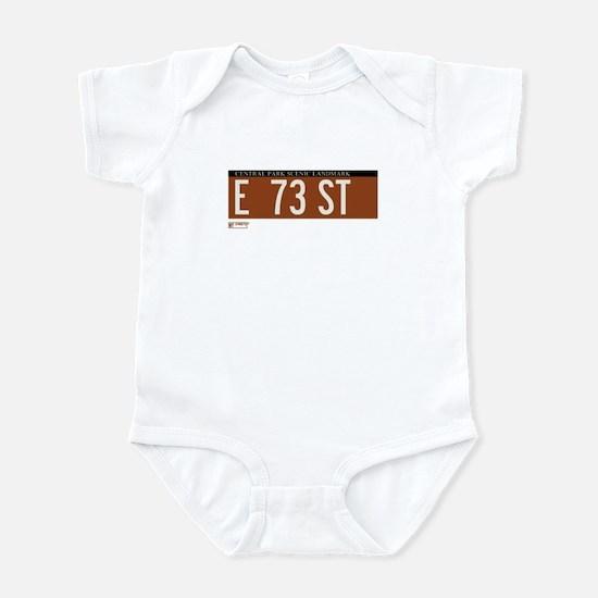 73rd Street in NY Infant Bodysuit