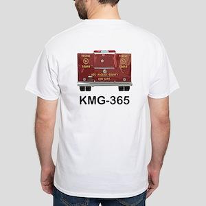 Squad 51 KMG365 White T-Shirt