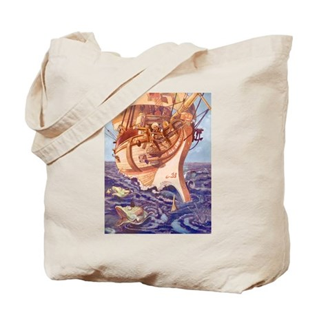 I Saw Fishes Tote Bag
