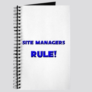 Site Managers Rule! Journal
