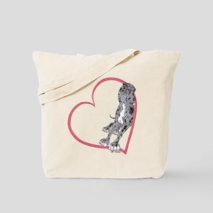 NMrW Heartline Lean Tote Bag