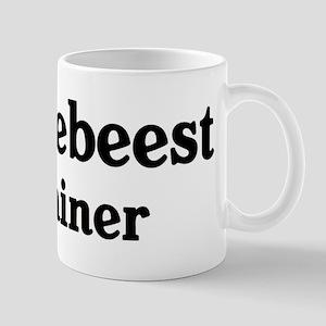 Wildebeest trainer Mug