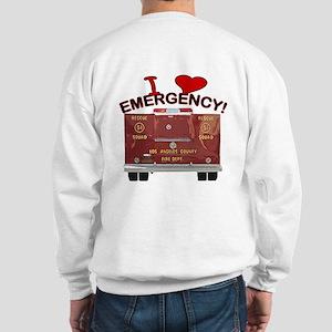 I Love EMERGENCY! Sweatshirt