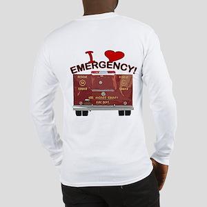 I Love EMERGENCY! Long Sleeve T-Shirt