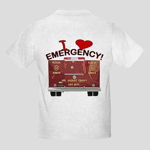 I Love EMERGENCY! Kids Light T-Shirt